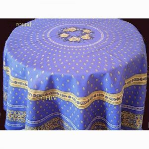 provence round tablecloth