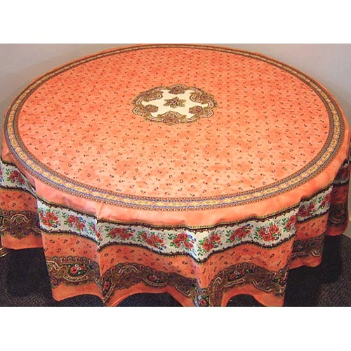 provence tablecloth round