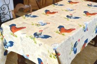 rooster hen fabric