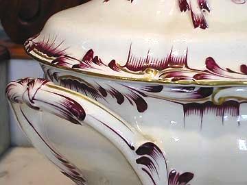 Luneville pottery faience