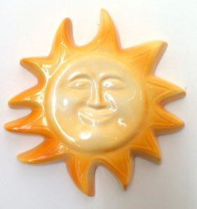 provence ceramic sun