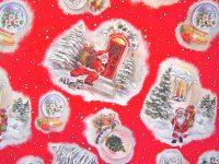 Christmas oilcloth