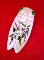ceramic cicada provence