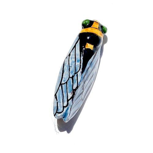 cicada brooch