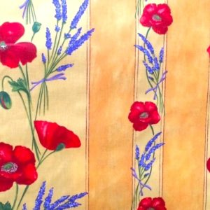 french poppies coated