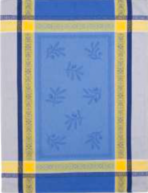 french jacquard towel